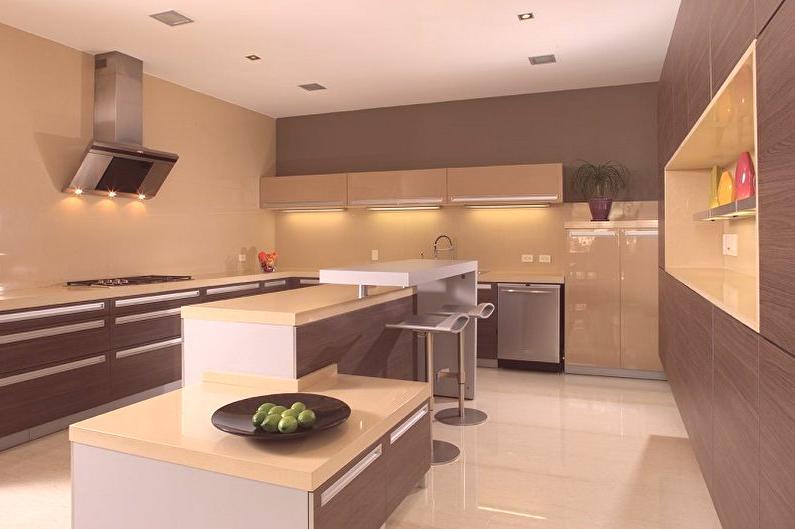 Beżowa Kuchnia 70 Zdjęć Wystrój Wnętrz Remont Kuchni W