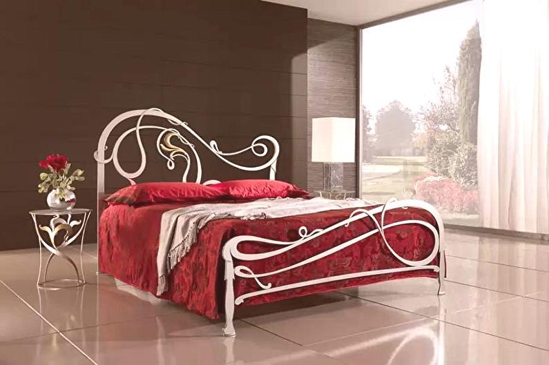 90cccd26c98e Cama forjada: un mueble excelente para el dormitorio. Una caja de este tipo  puede sumergirse en la atmósfera de la Edad Media y al mismo tiempo crear  una ...