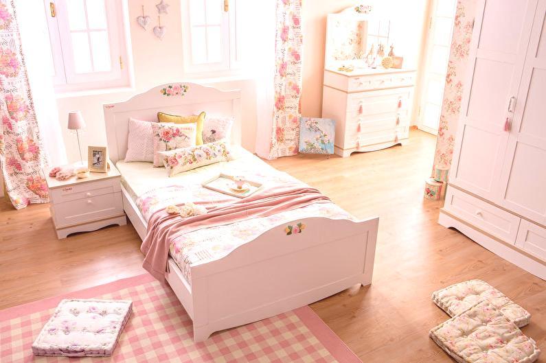 ed520b944dda Dizajn detskej izby pre dievča - 65 interiérových fotografií