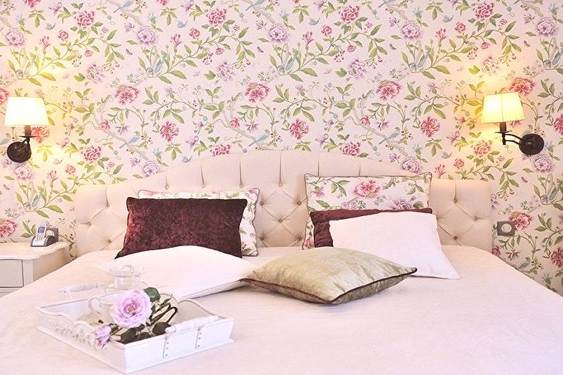 Papier peint pour la chambre à coucher (80 photos) - comment ...