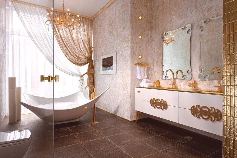 Intérieur de salle de bain Art Déco - Idées d\'intérieur