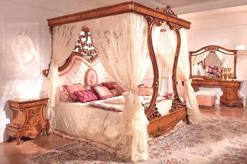 łóżko Z Baldachimem 60 Zdjęć Widoki I Modele Katalog