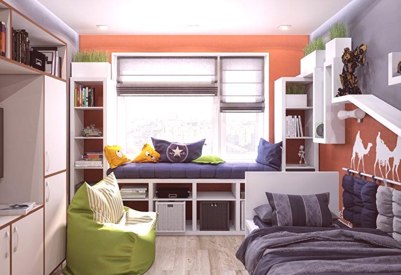 a6f136ffc1e9 Malá detská izba (50 fotografií) - Nápady na dizajn interiéru