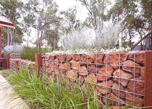 Gabions do-it-yourself (70 fotografija): prekrasne ideje