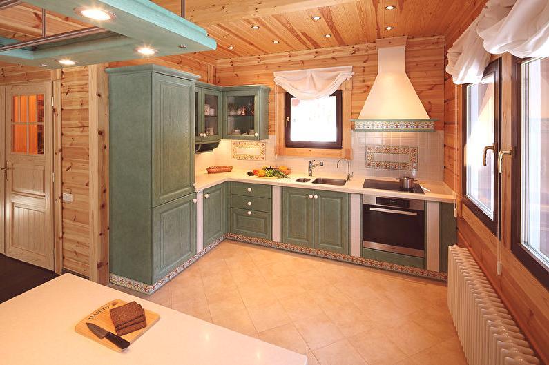 Projektowanie Kuchni W Drewnianym Domu Pomysły Wnętrz