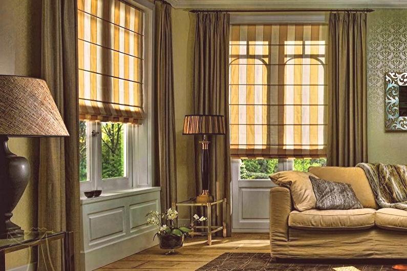 e29d3bc3a8457 Kaskádové záclony sú založené na hladkej textúre. Zachovávajú