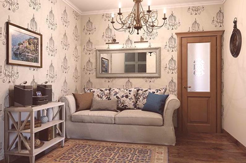 Salon de style provençal (80 photos): idées de rénovation ...