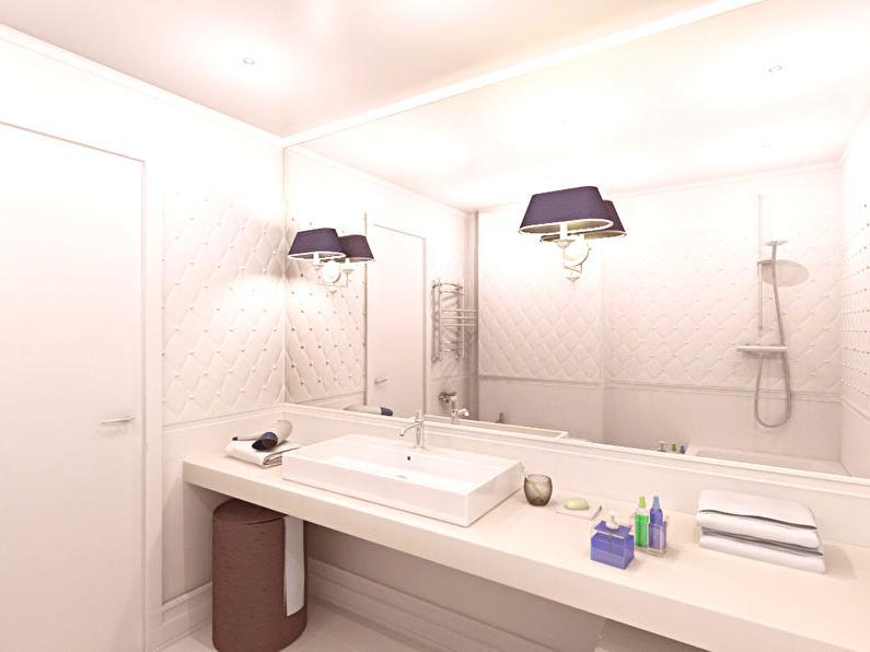 Design de salle de bain \