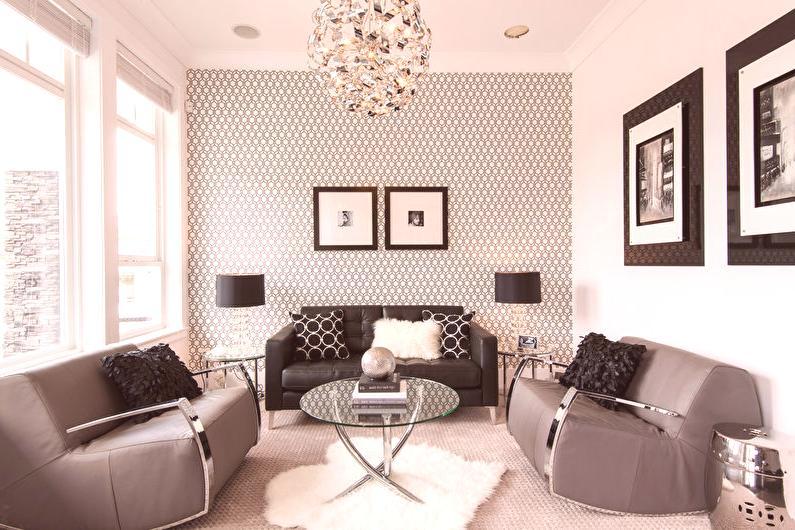 papel tapiz de ladrillo sala de estar ideas Papel Tapiz Para La Sala 50 Fotos Qu Papel Tapiz Elegir