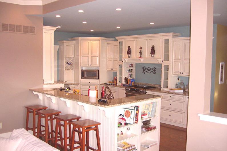 Lada Barowa Do Kuchni 80 Zdjęć Kuchnia Z Licznikiem Barowym