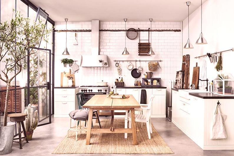 Cocinas Ikea en el interior: 80 fotos, modelos y diseño.