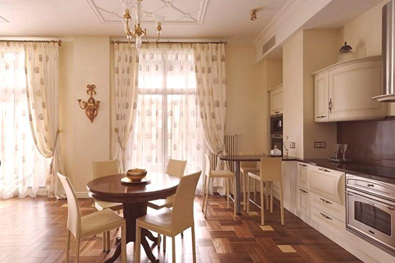 0f40ec3e6bba1 Záclony v kuchyni (100 fotografií): výhľady, krásne nápady