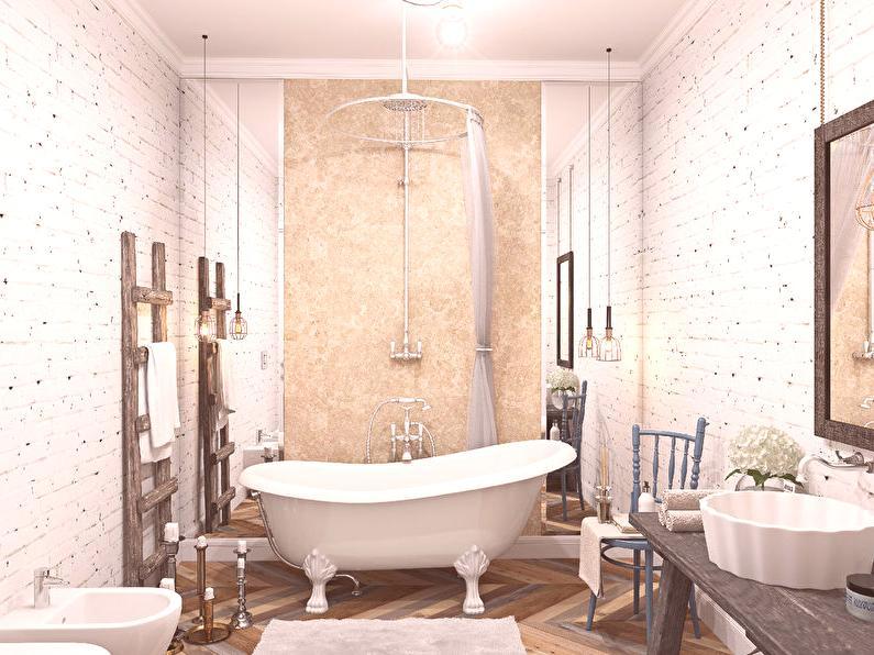 Idées de design d\'intérieur de salle de bains de style ...
