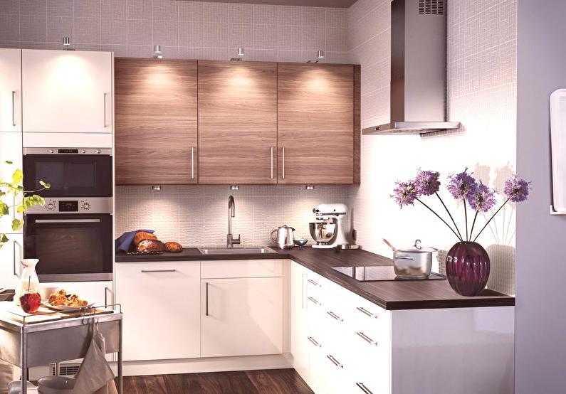 Diseño de cocina pequeña - 75 fotos interiores, ideas de reparación