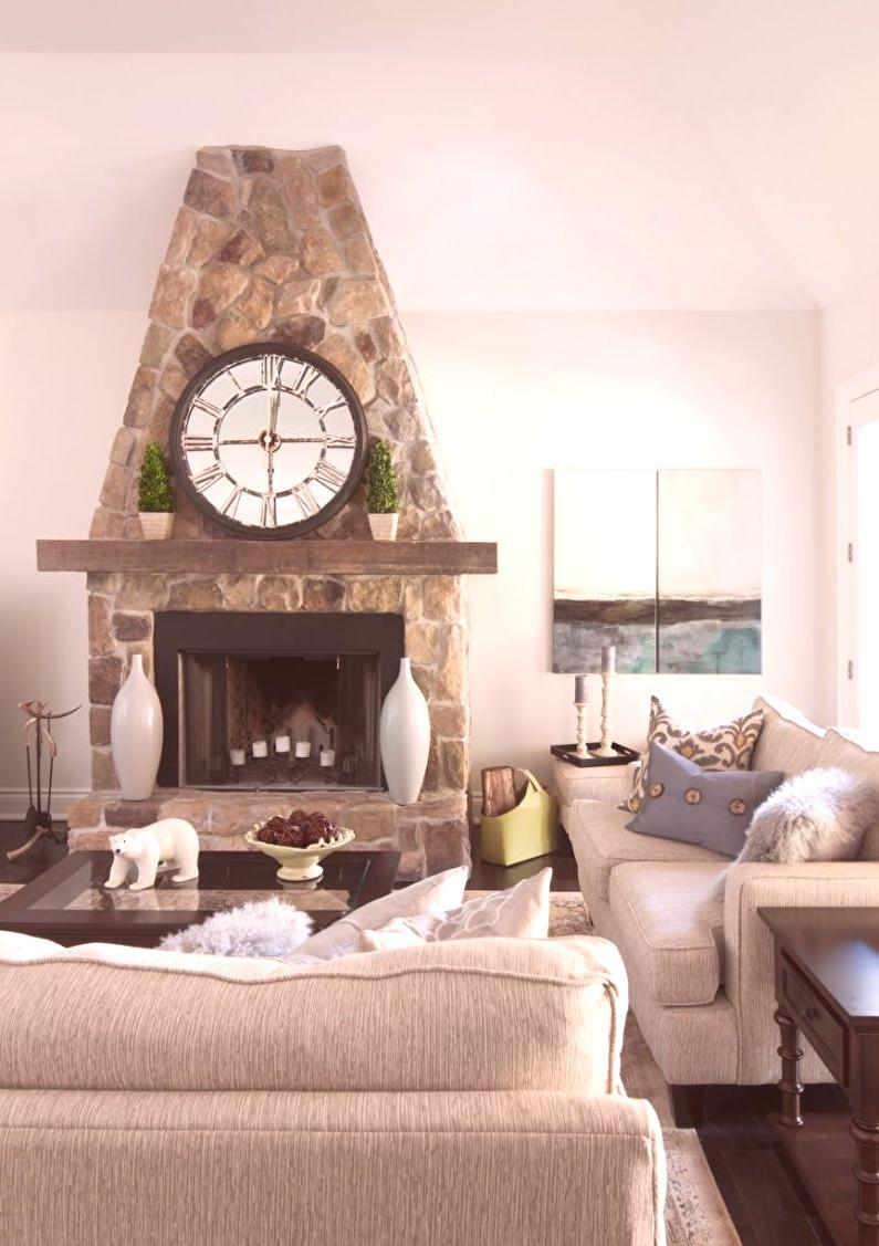 36fe47c57c35 Dizajn obývačky v štýle Provence (80 fotografií)  nápady na ...