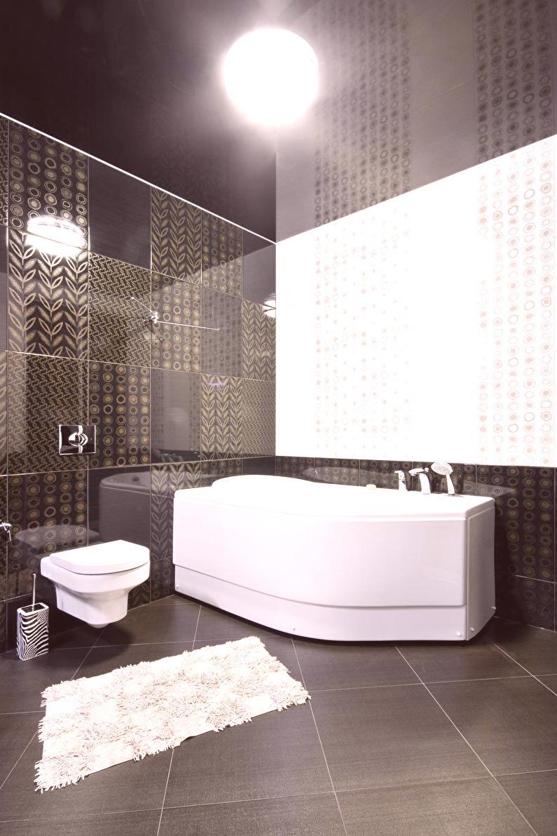 ideas de diseño de techo de baño Techo Tensado En El Bao 65 Fotos Ideas De Diseo