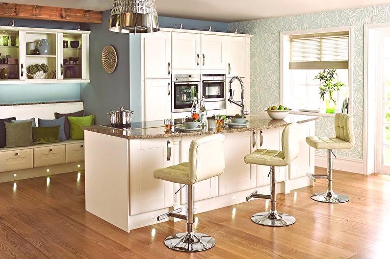 b2e3c6375fd53 Barové stoličky do kuchyne (80 fotografií): typy a modely, čo si vybrať