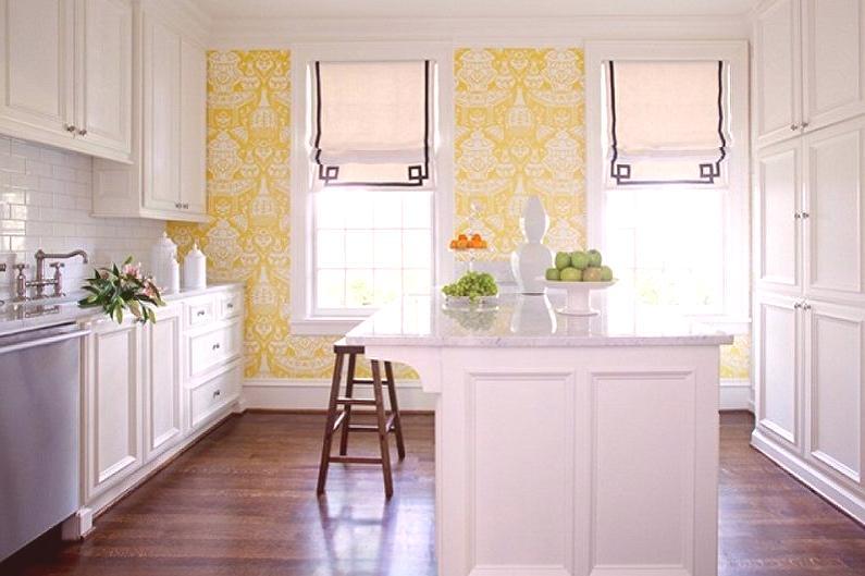 Papier peint en couleur pour la cuisine (90 photos) - idées ...