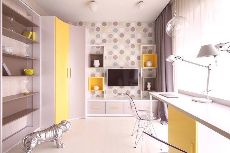 3a96e2b5d311 Malá detská izba (50 fotografií) - Nápady na dizajn interiéru