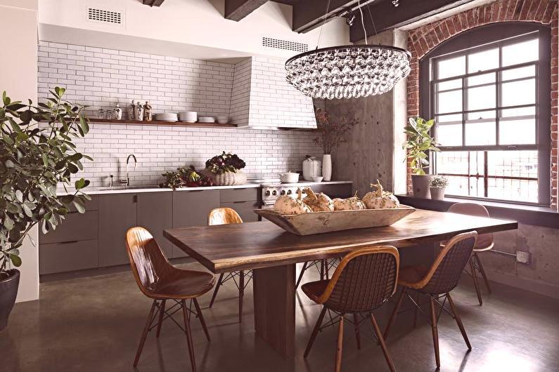 Projekt Kuchni W Stylu Loft 40 Zdjec Kuchnia W Stylu Przemyslowym