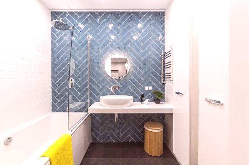 Projekt łazienki 2018 85 Zdjęcie Nowoczesne Pomysły Wnętrz
